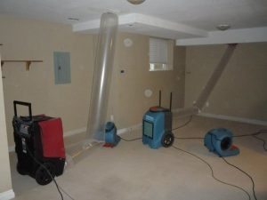 Final Steps Of Sewage Cleanup Job In Apartment Unit